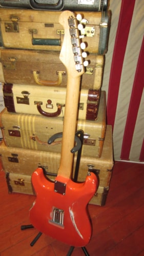 2015 Peter Florence Stratocaster Fiesta Red