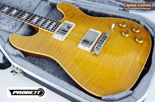 2015 Probett Rocket '59 Faded Lemonburst, Excellent, Original Hard