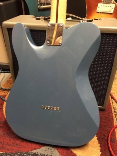 2015 Protocaster Guitars Single cut Pelham Blue, Excellent, Hard, $2,050.00