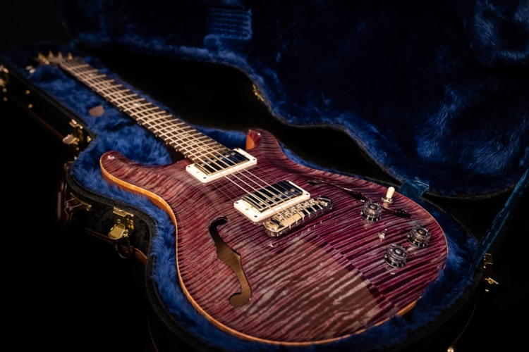 2015 PRS Hollow Body II Brazilian,Artist Package Mint, Original Hard, $4,750.00