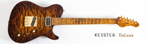 2015 Ramos Kevester deluxe #1 tiger eye quilt, Brand New, Original Hard, $4,799.00