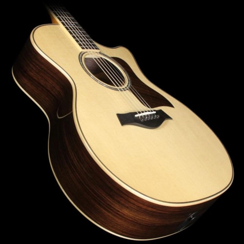 2015 Taylor Used 2015 Taylor 814ce Grand Auditorium Wildwood Spec Adirondack Bracing Acoustic-Electric Guitar Natural