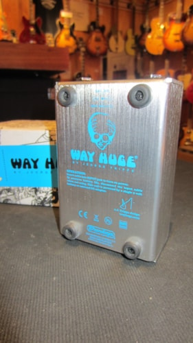 2015 Way Huge Electronics Echo-Puss Analog Delay Blue & Chrome, Excellent, Original Soft, $139.00