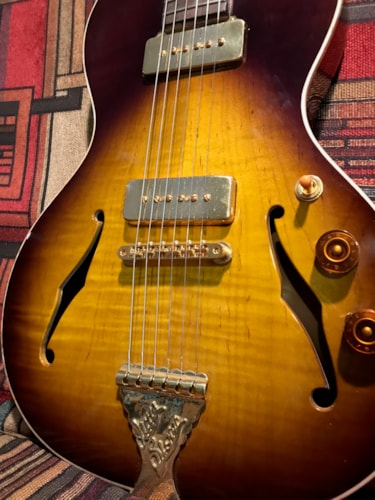 2016 B&G Guitars Little Sister tobacco Sunburst, Excellent, Original Hard, $3,600.00