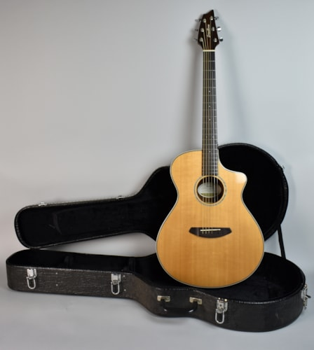 2016 Breedlove Pursuit Concert ZC Natural, Very Good, Hard, $445.00