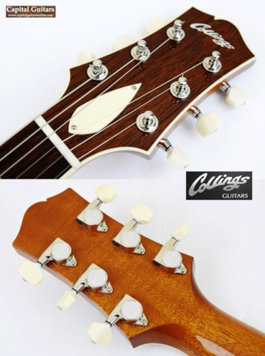 2016 Collings I-35 Deluxe Spruce Top Blonde, Excellent, Original Hard, $4,499.00