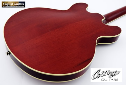 2016 Collings I-35 Deluxe with ThroBaks Dark Cherry Burst
