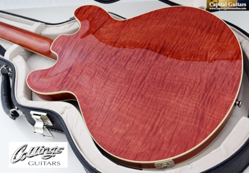 2016 Collings I-35 LC Deluxe Faded Cherry