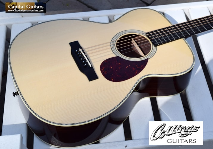 "2016 Collings OM2HG German Spruce Top, 1.75"" Nut, Near Mint"
