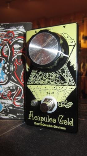 2016 EarthQuaker Devices Acapulco Gold Power Amp Distortion Gold, Brand New
