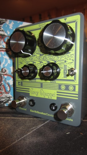 2016 EarthQuaker Devices Gray Channel Overdrive Gray, Brand New, $195.00
