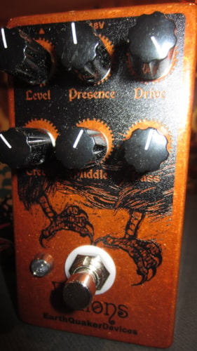 2016 EarthQuaker Devices Talons Red, Brand New, Original Soft, $195.00