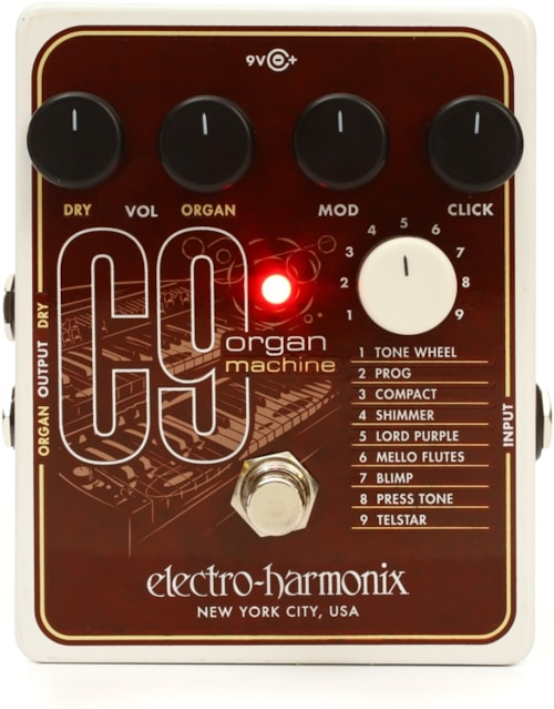 2016 electro harmonix c9 organ machine effects imperial guitar soundworks. Black Bedroom Furniture Sets. Home Design Ideas