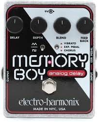 2016 Electro-Harmonix Memory Boy Delay Guitar Effects Pedal Brand New, Call For Price!