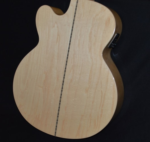 2016 Epiphone EJ-200SCE Natural Gloss, Mint, $389.00