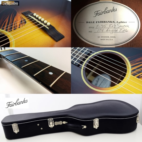 2016 Fairbanks F-35 Roy Smeck Vintage Sunburst
