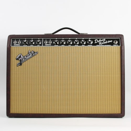 2016 Fender® '65 Deluxe Reverb® Reissue LE Wine Red, Excellent, $849.00