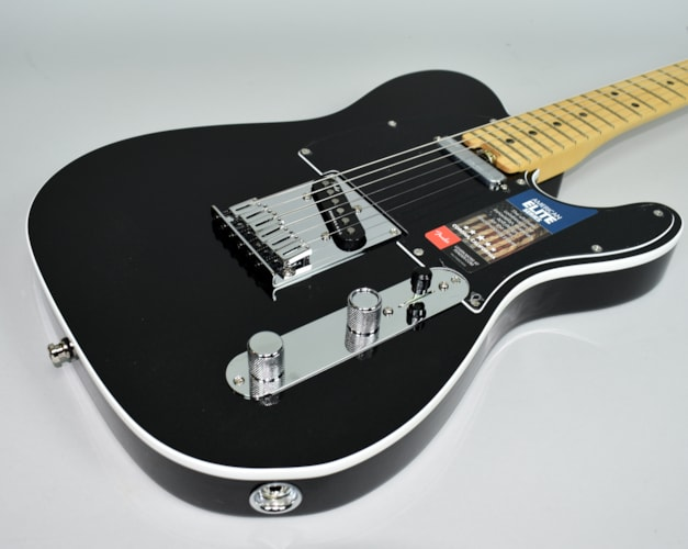 2016 Fender®  American Elite Telecaster® Mystic Black Electric Guitar w/OH Black, Mint, Original Hard, $1,899.99