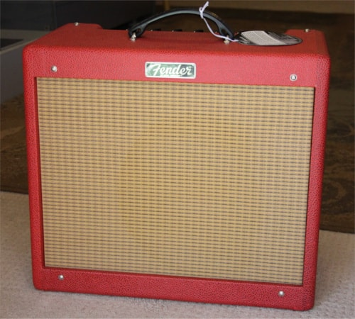 2016 Fender Blues Junior III Limited Edition British Red > Amps & Preamps |  AJ's Music & Vintage Guitars