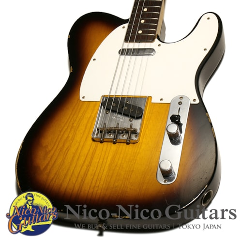 2016 Fender Custom Shop 1959 Telecaster Relic Sunburst