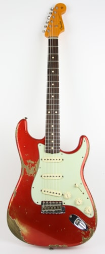 2016 Fender Custom Shop 1961 Stratocaster Relic Candy Apple Red