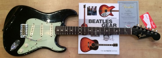 2016 Fender Custom Shop Beatle Spec Lennon Black 1964 Relic Stratocaster