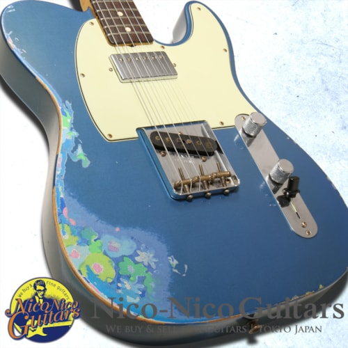 2016 Fender Custom Shop Limited Edition 60's Telecaster HS Heavy Relic  Lake Placid Blue/Blue Flo, Excellent, Original Hard, Call For Price!