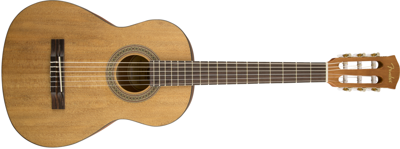 2016 Fender MC-1 3/4 Size Nylon String Acoustic Guitar Natural, Brand New, Original Soft, $116.99
