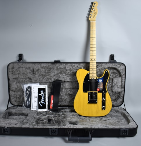 2016 Fender  Telecaster American Elite Butterscotch Blonde, Excellent, Original Hard