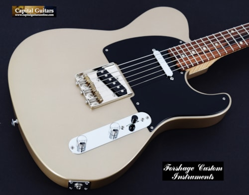 2016 Forshage GT Cedar, Flame Maple, Pau Ferro Shoreline Gold Nitro Satin