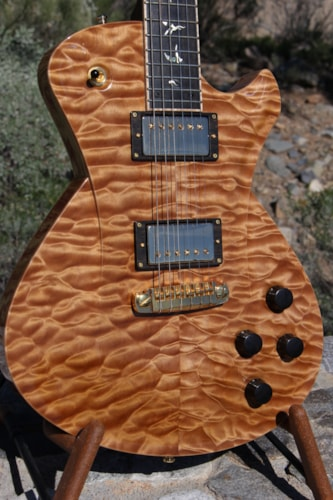 2016 Frank Hartung Embrace Hollowwood Deluxe Copperhead Natural