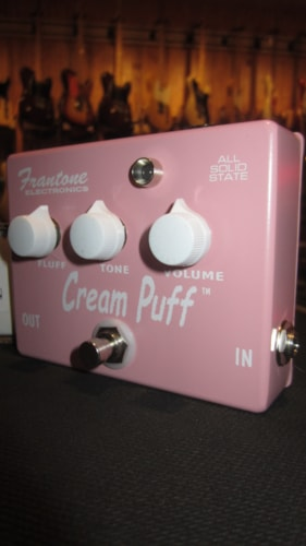 2016 Frantone Electronics Cream Puff Distortion Pin, Brand New, Original Soft, $295.00