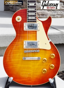 2016 Gibson Custom '59 LP CC 37