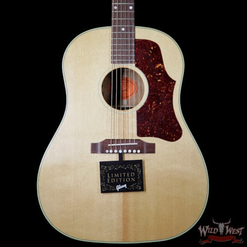 2016 Gibson Custom Shop 1960's J-50 VOS Electric-Acoustic Guitar Natural (J-45) Natural, Near Mint, $2,299.00