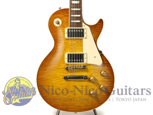 2016 Gibson Custom Shop Standard Historic 1959 Les Paul Gloss Iced Tea Burst, Excellent, Original Ha