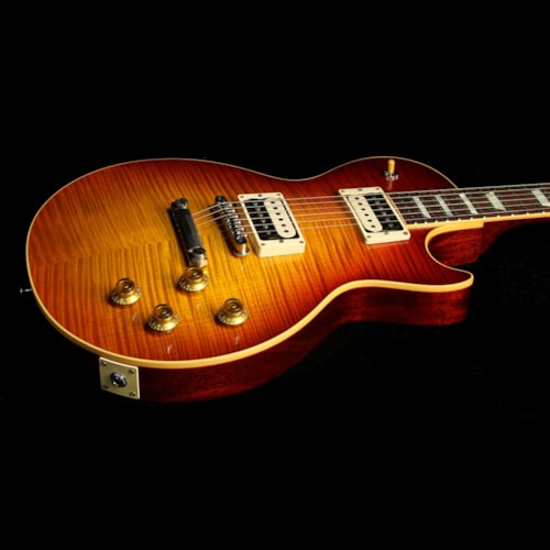 2016 Gibson Custom Shop Used 2016 Gibson Custom Shop Historic Select 1959 Les Paul Electric Guitar Dirty Iced Tea Burst Excellent, $4,499.00