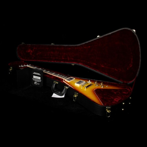 2016 Gibson Custom Shop Used 2016 Gibson Custom Shop Flying V Standard Electric Guitar Washed Cherry Excellent, $2,999.00