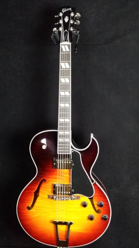 2016 Gibson Figured ES-175 Sunburst, Near Mint, Original Hard