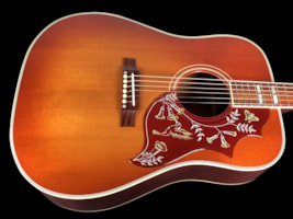 2016 Gibson Hummingbird Vintage Custom Shop acoustic, with a Vintage Che