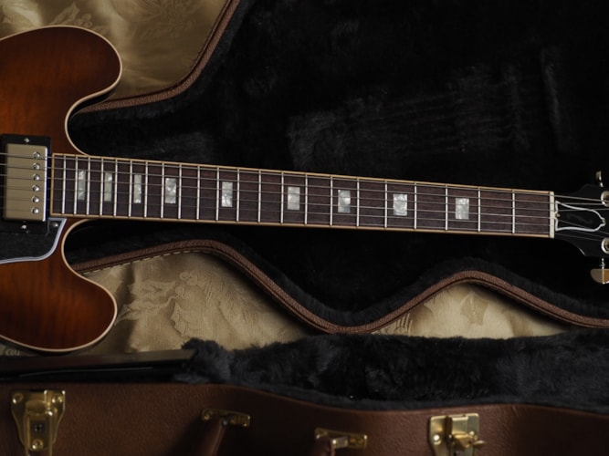 2016 Gibson Memphis ES-335 Premium Light Faded Burst, Mint, Hard, $2,899.00