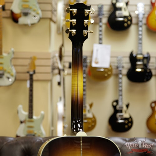 2016 Gibson SJ-200 Standard Electric-Acoustic Guitar Vintage Sunburst, Mint, Original Hard, $3,399.00