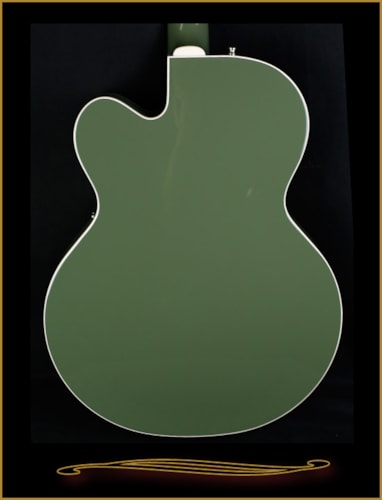 2016 Gretsch G6118T-SGR Players Edition Anniversary with Bigsby 2-Tone Smoke Green, Brand New, Hard