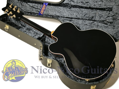 2016 Gretsch G6136T-BLK Players Edition Black Falcon Black