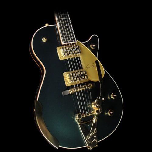 2016 Gretsch Used 2016 Gretsch G6134T-CDG LE Penguin Electric Guitar Cadillac Green