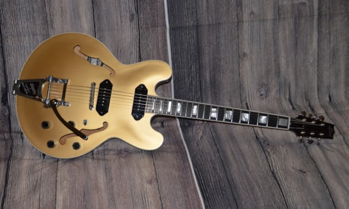 2016 Heritage H530 Custom Aged Gold Top over Walnut Stain