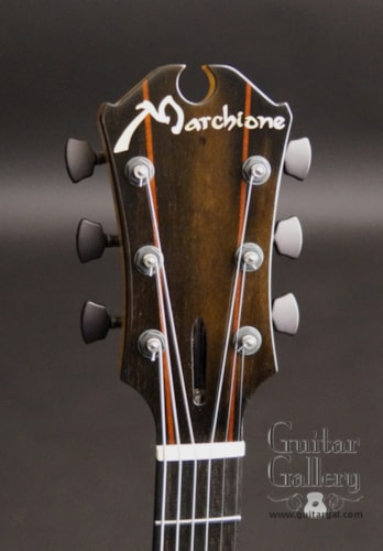 "2016 Marchione 15"" Archtop European Flame Maple, Mint, Original Hard"