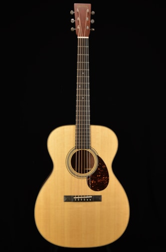 2016 Martin OM Custom Shop Natural, Excellent, Original Hard