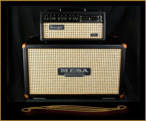 2016 Mesa Boogie Jp 2c Head And Horizontal 2x12 Cabinet Black With Wicker Grilles