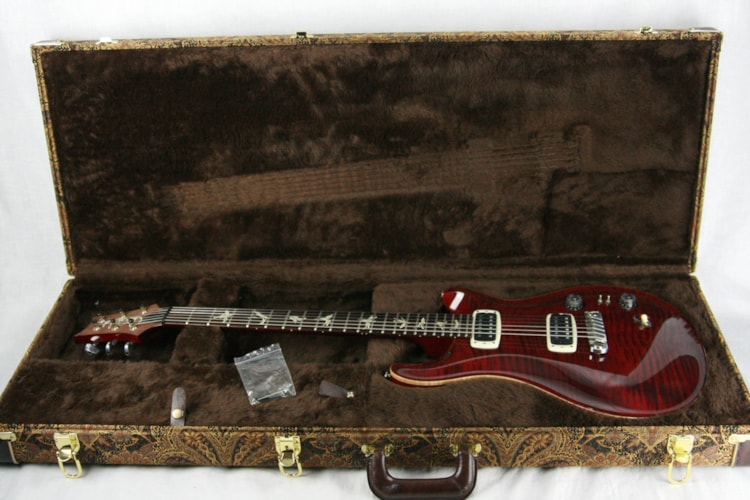 2016 PRS Paul's Guitar Black Cherry! Paul Reed Smith! 408 Pickups, Honduran Rosewood, Paisley Case, 22 custom