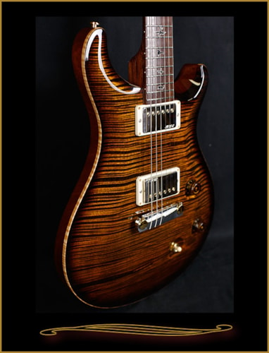 2016 Paul Reed Smith Private Stock #6391 McCarty Tiger Eye Smoked Burst, Brand New, Hard